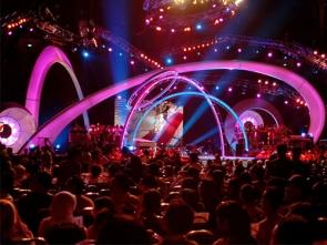 演唱会舞台音响设备系统安装